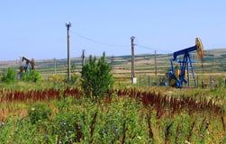 Нефтяная скважина Стоковая Фотография RF