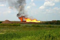 нефтяная скважина Стоковая Фотография