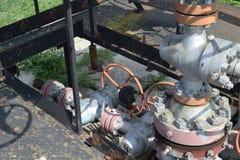 Нефтяная скважина Стоковое Изображение RF