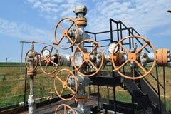 Нефтяная скважина Стоковое Фото