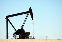 нефтяная скважина Стоковые Изображения