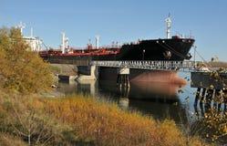 нефтяной танкер стоковое фото rf
