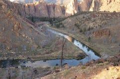 нечестный кузнец утеса реки Стоковое Изображение RF