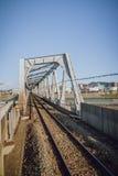 Нечестный мост для поездов Стоковое фото RF