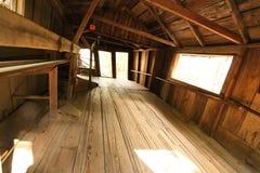 нечестный старый сарай Стоковое Фото