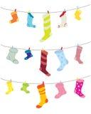 нечетные носки Стоковое Фото