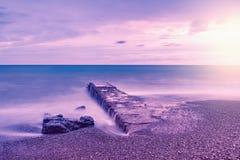 Неясное изображение волн Стоковые Изображения
