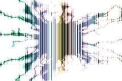 Неясные линии предпосылка, форма молнии Стоковое фото RF