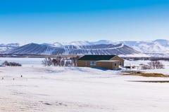 Не активная гора Valcano в Исландии стоковое фото rf