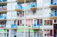 Недвижимость Амстердама Стоковые Изображения RF