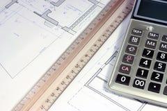 Недвижимость инвестируя evaluetion Стоковая Фотография RF