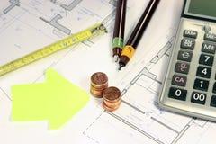 Недвижимость инвестируя evaluetion Стоковое Изображение