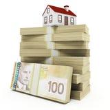 Недвижимость Канады Стоковые Фотографии RF
