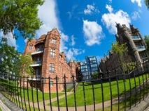 Недвижимость Эдинбурга; Квартиры роскоши Quartermile Стоковое Изображение