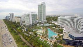 Недвижимость 4k Miami Beach видеоматериал