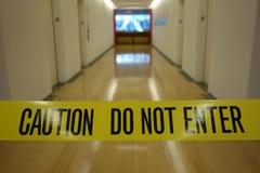 Не войдите в Стоковая Фотография RF