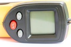 Не желтый цвет цифрового термометра контакта ультракрасный Стоковое фото RF