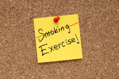 Не курите тренировку Стоковое Изображение RF