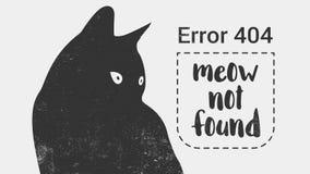 Не найденная страница ошибки 404 Стоковая Фотография RF