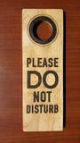 Не нарушьте деревянное на деревянном Стоковые Фотографии RF