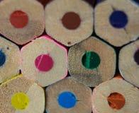 Не-повернутые Crayons стоковое изображение rf