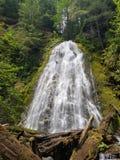 Не пойдите погнать водопады стоковое изображение rf