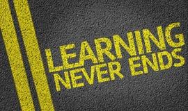 Не учащ никогда концы написанные на дороге иллюстрация штока