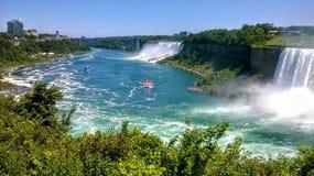 Ниагарский Водопад красивый летний день стоковое изображение