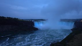 Ниагарский Водопад - самый большой водопад в Северной Америке сток-видео