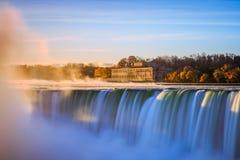 Ниагарский Водопад в Онтарио Канаде Стоковое Изображение RF