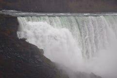 Ниагарский Водопад и птицы стоковое изображение rf