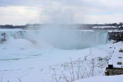 Ниагарский Водопад, Онтарио, Канада - 9-ое марта 2015 Стоковая Фотография