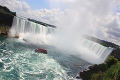Ниагарский Водопад, Онтарио Канада Стоковое Изображение