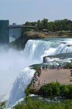 Ниагарский Водопад, NY, обозревает Стоковое Изображение RF