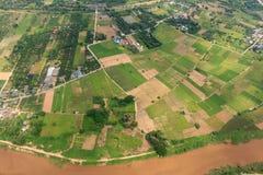 Нива Чиангмая, Таиланда Стоковое Изображение RF