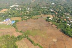 Нива Чиангмая, Таиланда Стоковое фото RF