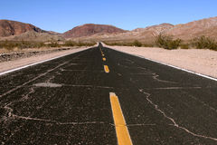 нигде дорога к Стоковое Фото