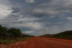 нигде дорога к Стоковое Изображение RF