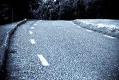 нигде дорога к Стоковое Изображение