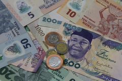 Нигерийские деньги стоковое фото