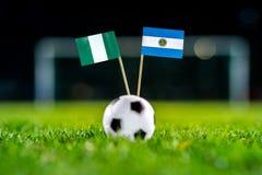 Нигерия - Аргентина, группа d, Tuesday, 26 Футбол -го июнь, мир стоковое фото rf