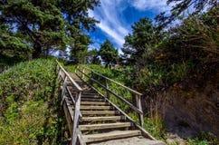 нигде лестницы к стоковое фото rf