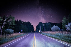 нигде дорога к Стоковые Изображения RF