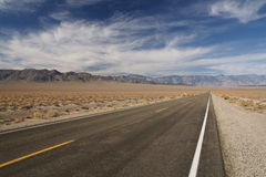 нигде дорога к Стоковая Фотография RF