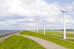 нидерландские windturbines Стоковое Изображение RF