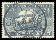 Нидерланды, колонизация, парусные судна стоковые фотографии rf
