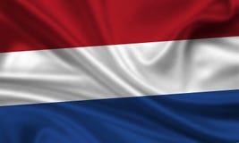 Нидерланды флага Стоковые Изображения RF