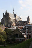 Нидерланды leiden церков Стоковые Изображения RF