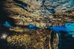 нижнее зеркало не Россия озера kungur подземелья видимая Стоковые Фото