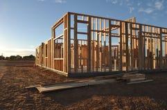 нижняя конструкции домашняя новая Стоковая Фотография